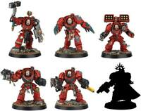 Warhammer Space Marine Heroes Series 2 non-scale PS Made assembly 6pcs BOX JAPAN