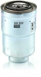 Mann-filter Fuel filter WK828x fits FORD AUSTRALIA COURIER PE 2.5 TD 4x4