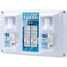 Physicianscare 24-102 Wall Mountable Eye and Skin Flush Station Two 16oz Bottles