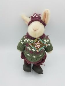Hoppy VanderHare Rabbit in Winter Frolic Plush Muffy Collection Jointed