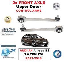 2x delante Eje SUPERIOR EXTERIOR Brazos Para Audi A4 Allroad B8 2.0 tfsi tdi