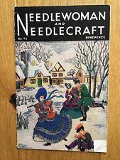 Vintage Needlewoman And Needlecraft Magazine. No 40. October 1949