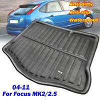 For Ford Focus MK2 Hatchback 05-11 Rear Trunk Boot Liner Cargo Floor Mat Tray