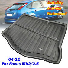 For Ford Focus MK2 Hatchback 05-11 Rear Trunk Boot Liner Cargo Floor Mat Tray