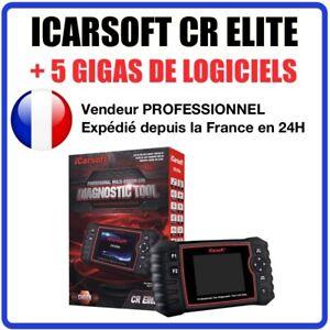 Valise Diagnostic Auto Pro - iCarsoft CR Elite - Version 2021 - Diag Puissant
