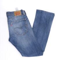 Levi's Levis Jeans 527 W31 L34 blau stonewashed 31/34 Bootcut -B1264