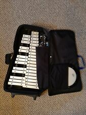 Percussion Bells and Practice Pad Kit - with stand, bag, sticks, and mallets