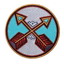 NATIVE INDIAN TRIBAL ARROW 4 INCH IRON ON MC INDIAN PATCH