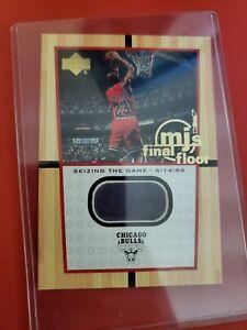 2000 Upper Deck Michael Jordan Final Floor Oversized Card #ff8 Mint Condition!!