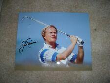 JACK NICKLAUS signed GOLF PGA 8x10 photo Masters Champ Agusta