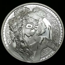 2017 La Muerte Del Dolar Death of The Dollar Series 1 oz .999 Silver Shield Coin