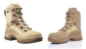 HAIX® Airpower P9 Desert Leder Polizei Security Schuhe Stiefel beige Gr.36=UK3,5