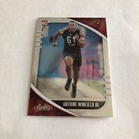 2020 Absolute Football Antoine Winfield Jr Rookie No. 107 Buccaneers RC