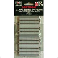 Kato 40-031 UniTram Rail Droit / Straight Track 62mm 2pcs - N