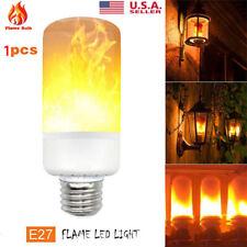 E27 99 LED Flicker Flame Fire Effect Light Bulb Christmas Decor Lamp US Seller