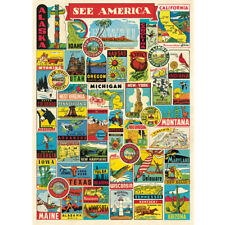 1000 Piece Jigsaw Puzzle See America For Adults Kids Learning Educational Game