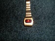 CLEAN Vintage BULOVA ACCUQUARTZ Led Digital Watch
