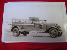 1929 FORD FIRETRUCK BOWLING GREEN VA FIRE DEPT 11 X 17  PHOTO   PICTURE