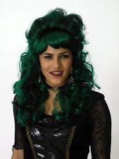 "Perücke ""Saphira"" Lang Gelockt Gesträhnt Halloween Karneval Kostüm"