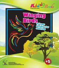 Quackduck Malbuch Winging Birds - Singende Vögel - Transparente Fensterbilder