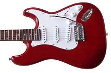 E-Gitarre ST5DRT- dunkelrot, Massivholzkörper, Anschlußkabel- by Vision-MSA!n