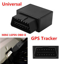 New 16PIN OBD II Car Truck GPS Realtime Tracker Mini OBD2 Tracking Device GPRS