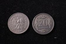 Poland Polish 20 Grosz 2000 Republic Coin zł