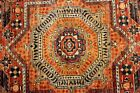 9 Ft. Long TOP OF THE LINE Hanmdade Hall Runner Natural Dyes & Colors Caucasian