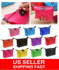 Multifunction Travel Cosmetic Bag Makeup Pouch Toiletry Zipper Wash Organizer