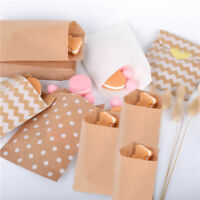 Wrapping Supplies Popcorn Bag Candy Biscuit Bags Packing Pouch Kraft Paper Bag