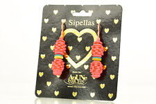 Earrings 1 Pair * AnUNe-ForYou * Sipellas No 202 silicone jewellery, women