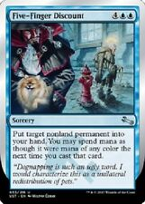 4x Five-Finger Discount  -NM-  Blue Uncommon  MTG -Unstable-