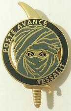 insigne  Mission POSTE AVANCE TESSALIT Bataille de Tessalit Guerre du Mali 2012