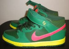 NEW NIKE DUNK MID PRO SB LUCKY GREEN SEEDLESS WATERMELON MENS SHOES SIZE 10