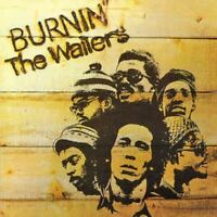 THE WAILERS burnin'(CD, album) roots reggae, bob marley, very good condition,