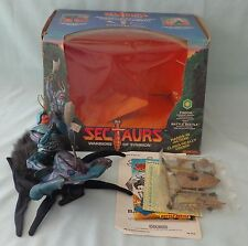 Sectaurs Warriors Pinsor Action Figure Battle Beetle hand puppet Coleco Toy 1984