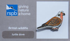 RSPB Pin Badge   Turtle Dove   GNaH [00610]