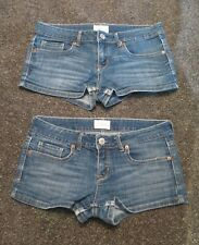 Two Pair of Aeropostale Jean Shorts - Size 5/6