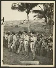Japanese nurses,soldiers,surrendered to Americans,World War II,Cebu Island,1945
