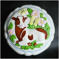 Franklin Mint Le Cordon Bleu Cow Porcelain Mold