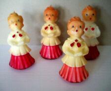 4 choir boys Gurley Christmas candles
