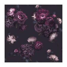 3 Rolls of Arthouse Euphoria Floral Plum Wallpaper 697500