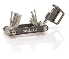 XLC Multitool Alu 15-teilig Werkzeug klein und leicht Fahrrad MTB Cross Bike NEU
