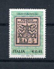 Italia 2002 Celebrazione primi francobolli dello Stato Pontificio  Mnh
