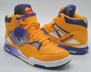 VNDS Reebok The Pump Omni Zone ERS Retro The Lakers Gold/Violet/White 9.5 rare