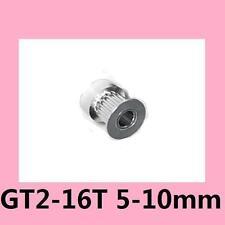 16T 5mm Bore 10mm Width GT2 Timing Belt Alu Drive Pulley For DIY 3D Printer