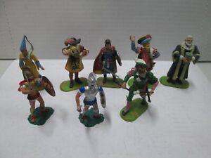 8 Vintage Britains Plastic Roman Soldiers