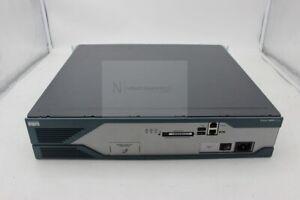 USED Cisco CISCO2821 Router Def Config 2 Port Gigabit Ethernet LAN Base-T 2x USB