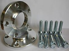 2 X 20MM 5X112 HUBCENTRIC ALLOY WHEEL SPACERS FIT AUDI A6 A8 RS6 S8 SALOON AVANT