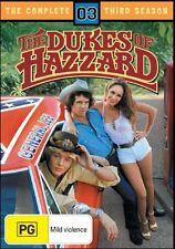 The Dukes Of Hazzard : Season 3 (DVD, 2006, 4-Disc Set)